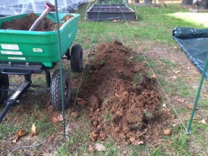Covered Compost Trench