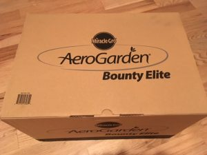 Unboxing AeroGarden Bounty Elite