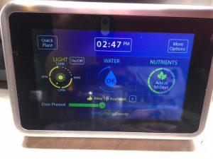 Touch Screen on AeroGarden